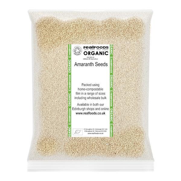 Amaranth Seeds ORGANIC image 2
