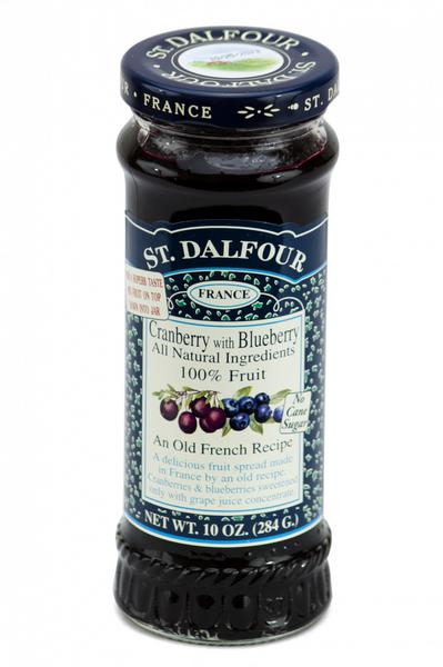 Cranberry & Blueberry Fruit Spread St Dalfour