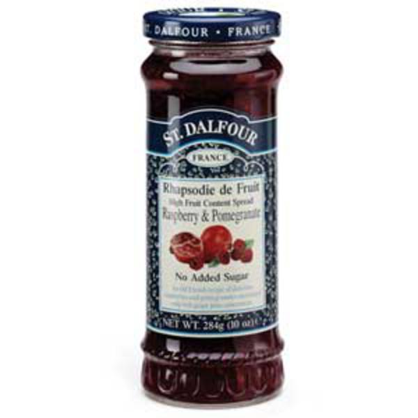 Raspberry & Pomegranate Fruit Spread St Dalfour no sugar added