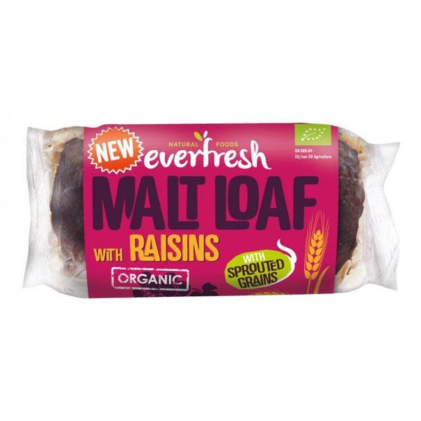 Malted Raisin Loaf Vegan, ORGANIC