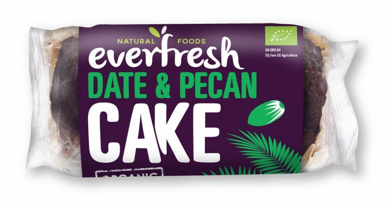 Date & Pecan Cake ORGANIC
