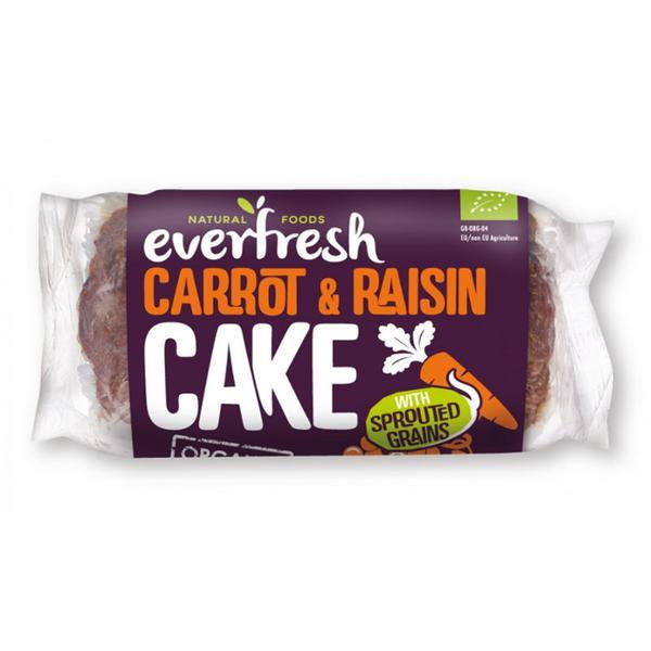 Carrot & Raisin Cake no added sugar, Vegan, ORGANIC
