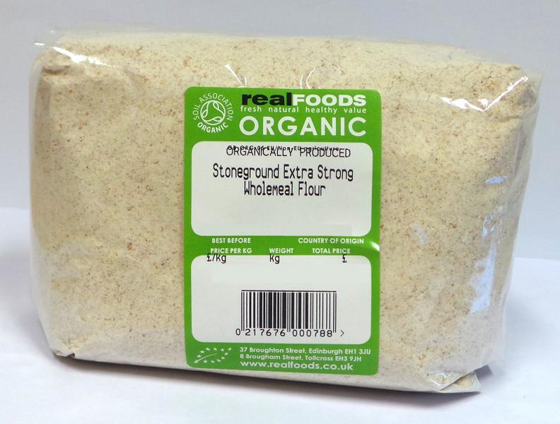 Stoneground Extra Strong Wholemeal Flour ORGANIC image 2