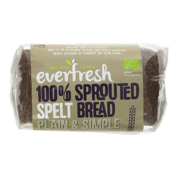 Organic Sprouted Spelt Bread In 400g From Everfresh