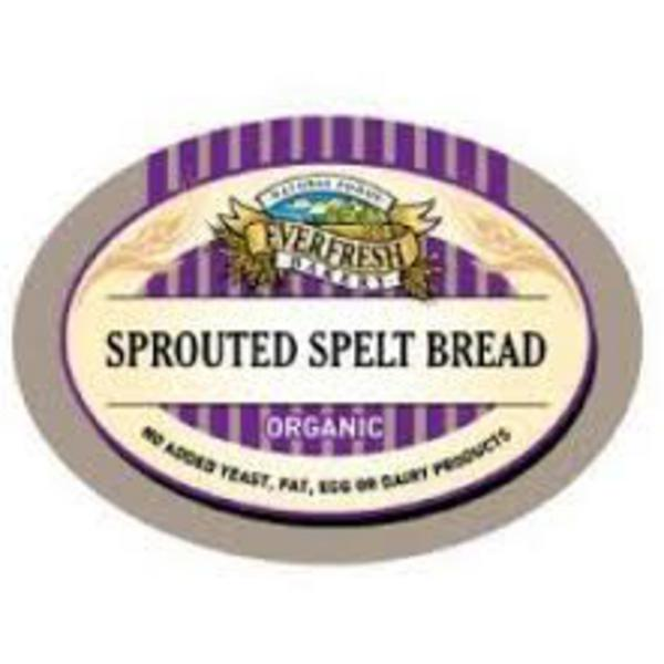 Sprouted Spelt Bread Vegan, yeast free, wheat free, ORGANIC image 2
