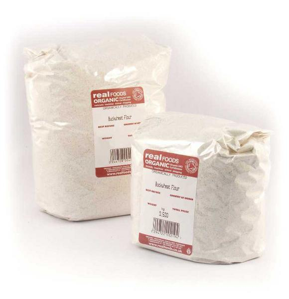 Wholegrain Buckwheat Flour ORGANIC image 2