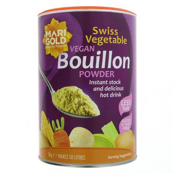 Swiss Vegetable Bouillon Reduced Salt Gluten Free, Vegan, yeast free