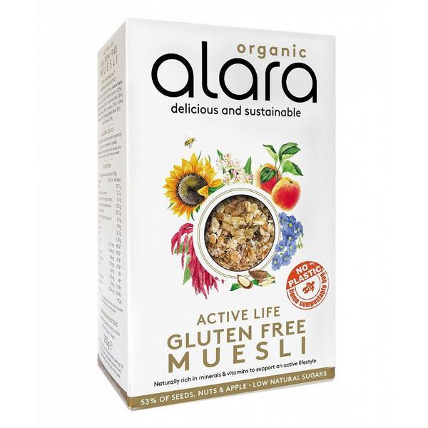 Active Muesli Gluten Free, ORGANIC
