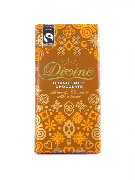 Orange Milk Chocolate FairTrade