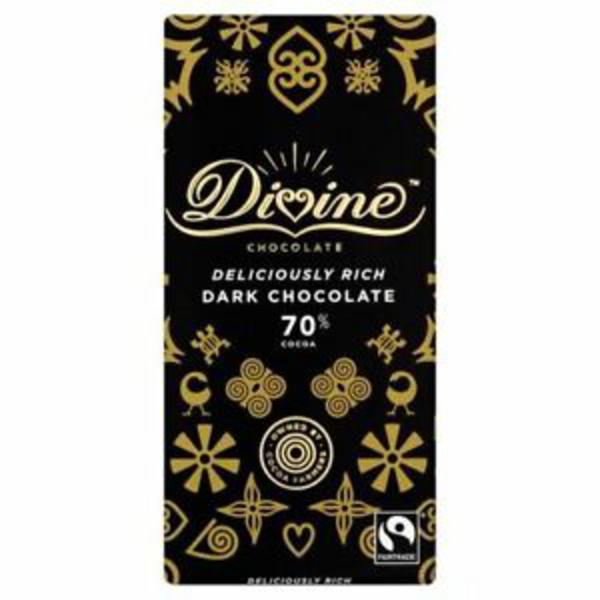 Dark Chocolate 70% Vegan, FairTrade