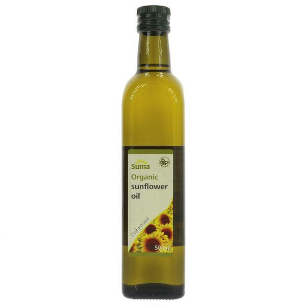 Sunflower Oil Cold Pressed