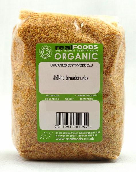 Wholewheat Breadcrumbs ORGANIC