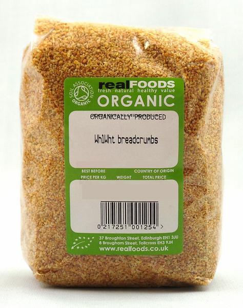 Wholewheat Breadcrumbs ORGANIC