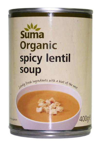 Spicy Lentil Soup no added sugar, ORGANIC