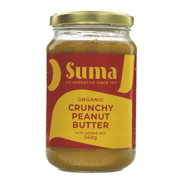 Crunchy Peanut Butter Salted ORGANIC