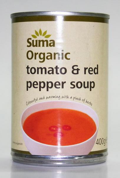 Tomato & Red Pepper Soup Vegan, ORGANIC