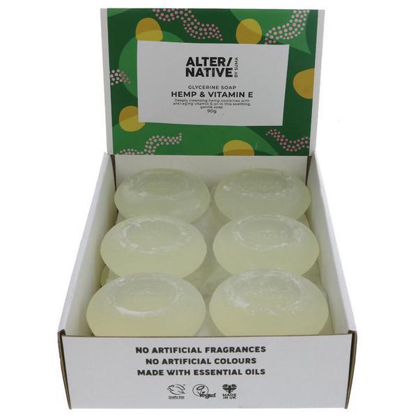 Hemp & Vitamin E Soap dairy free, Vegan