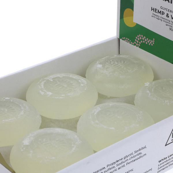 Hemp & Vitamin E Soap dairy free, Vegan image 2