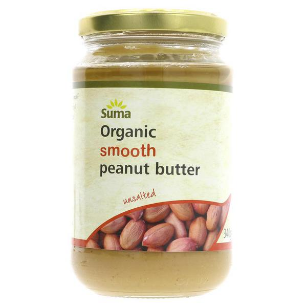 Smooth Peanut Butter no added salt, ORGANIC
