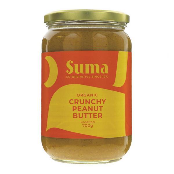 Crunchy Peanut Butter no added salt, ORGANIC