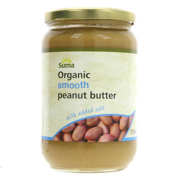 Smooth Peanut Butter With Added Salt , ORGANIC