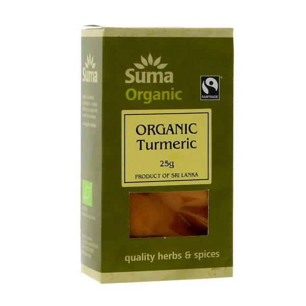 Turmeric Ground Gluten Free, Vegan, FairTrade, ORGANIC