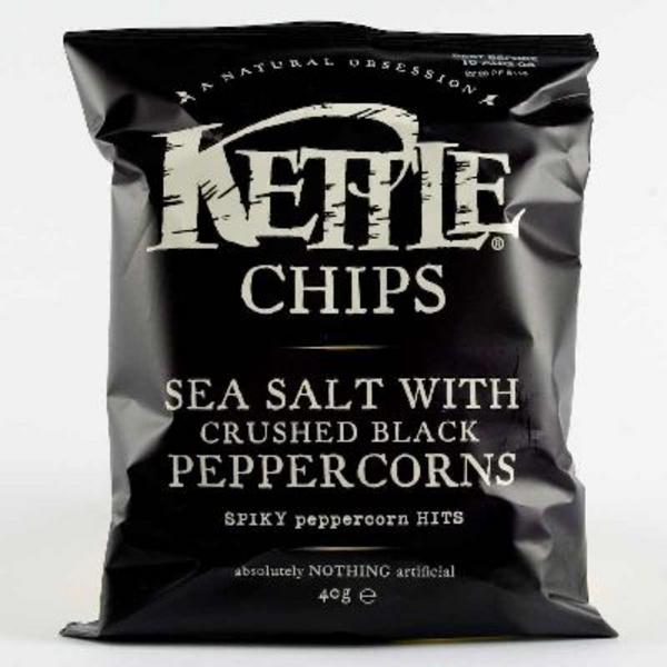 Sea Salt & Black Pepper Crisps