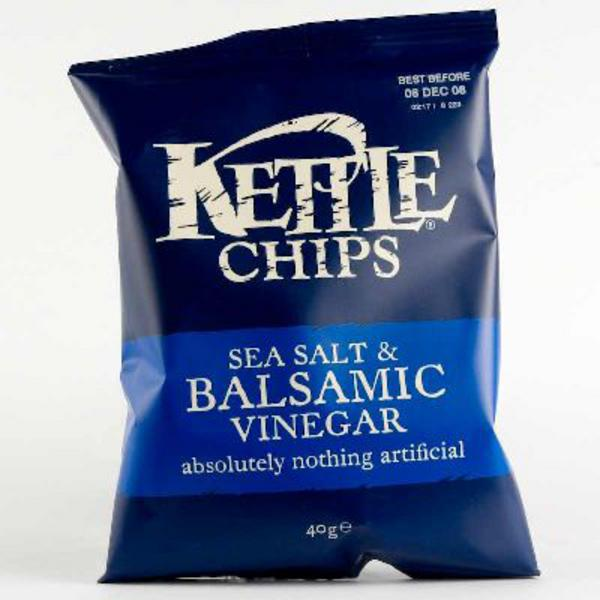 Balsamic Vinegar & Sea Salt Crisps