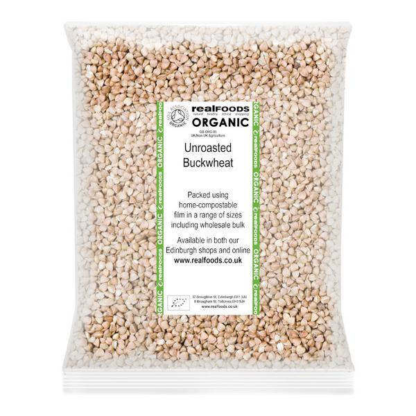 Unroasted Buckwheat ORGANIC image 2