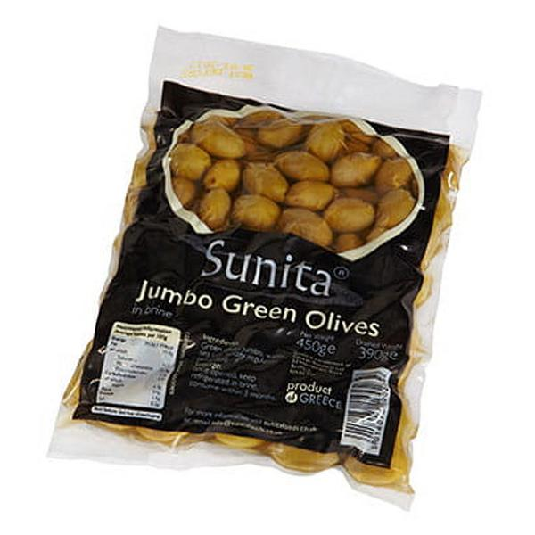 Green Olives in Brine