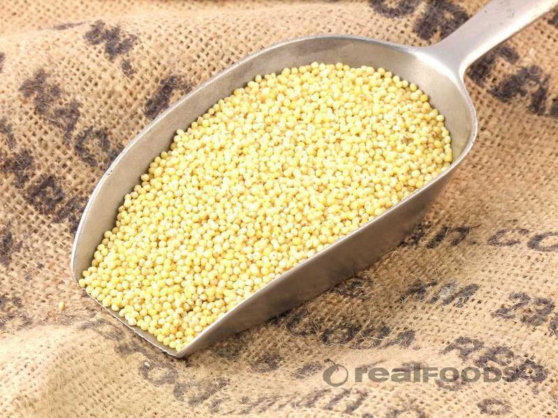 Hulled Yellow Millet ORGANIC