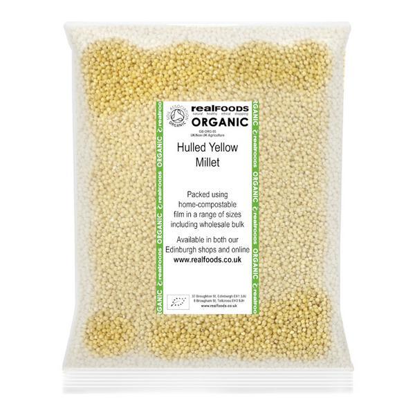 Hulled Yellow Millet ORGANIC image 2