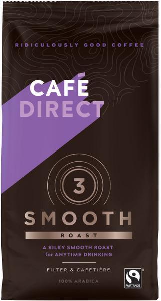 Smooth Roast Fresh Ground Coffee FairTrade