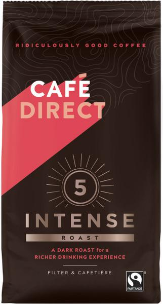 Intense Roast Ground Coffee FairTrade