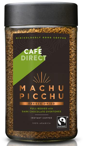 Machu Picchu Instant Freeze Dried Coffee FairTrade