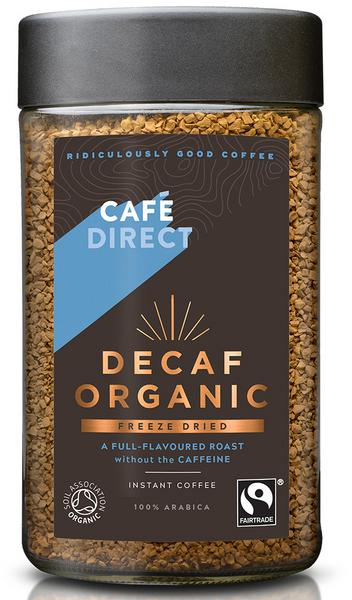 Instant Freeze Dried Coffee Decaffeinated, FairTrade, ORGANIC