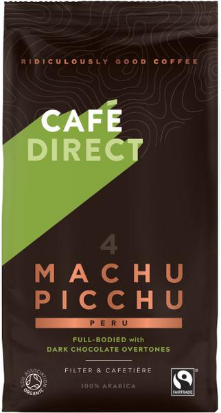 Machu Picchu Gourmet Ground Coffee FairTrade, ORGANIC