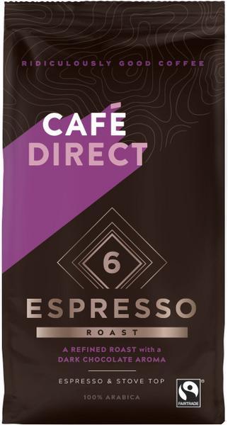 Espresso Roast Ground Coffee FairTrade