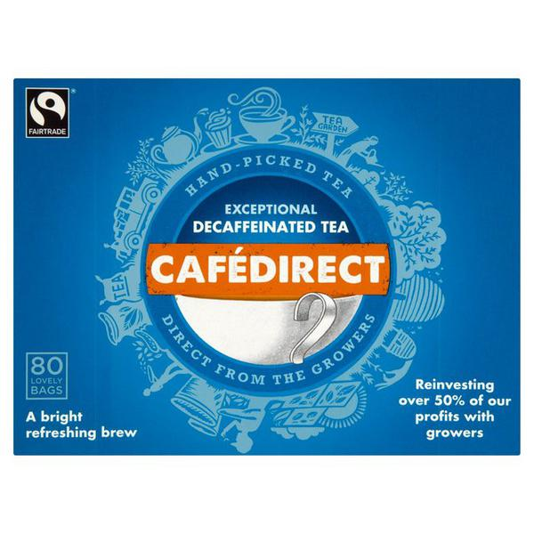 Tea Decaffeinated, FairTrade