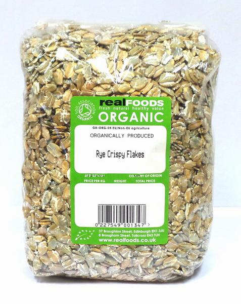Crispy Rye Flakes ORGANIC image 2