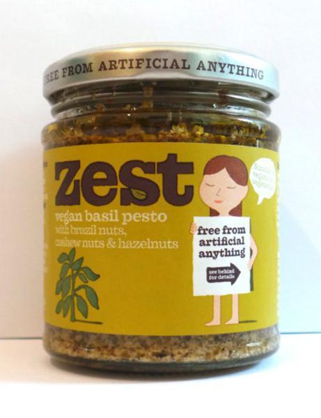 Basil Pesto Gluten Free, Vegan