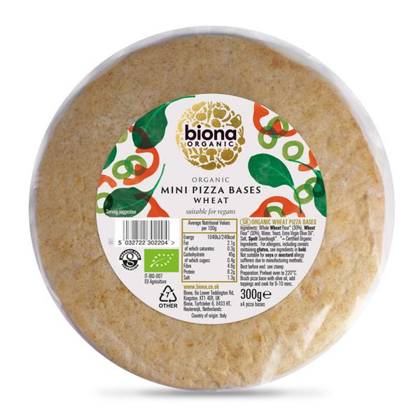Pizza Bases Minis ORGANIC