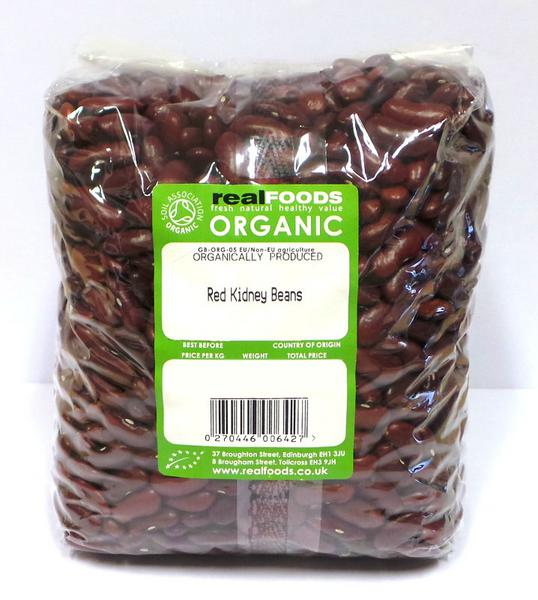Red Kidney Beans ORGANIC image 2