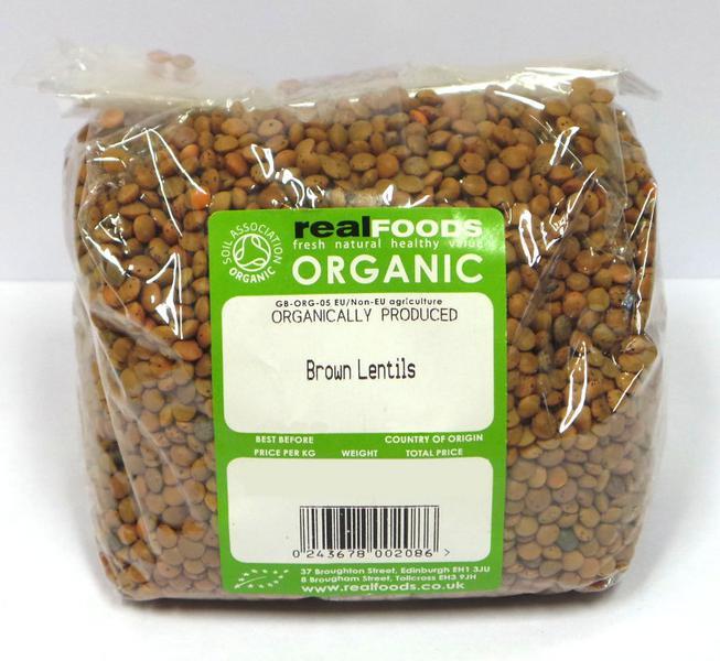 Brown Lentils ORGANIC image 2