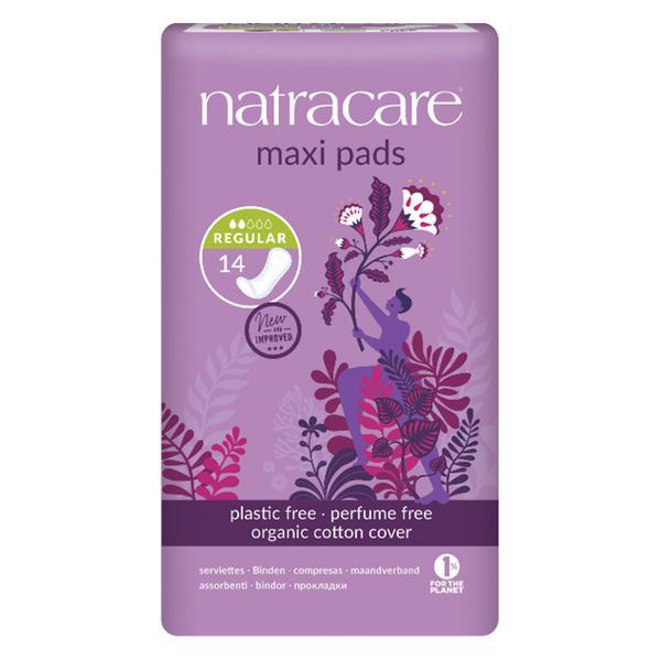 Organic Sanitary Towel Maxi Regular In 14pack From Natracare