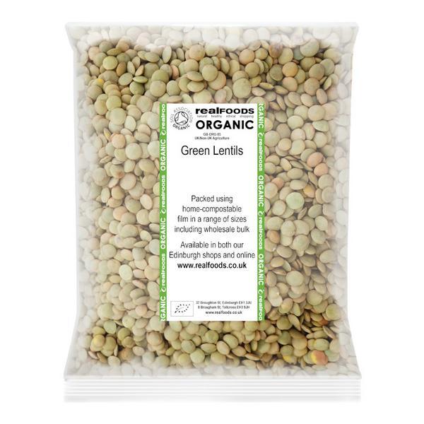 Green Lentils ORGANIC image 2