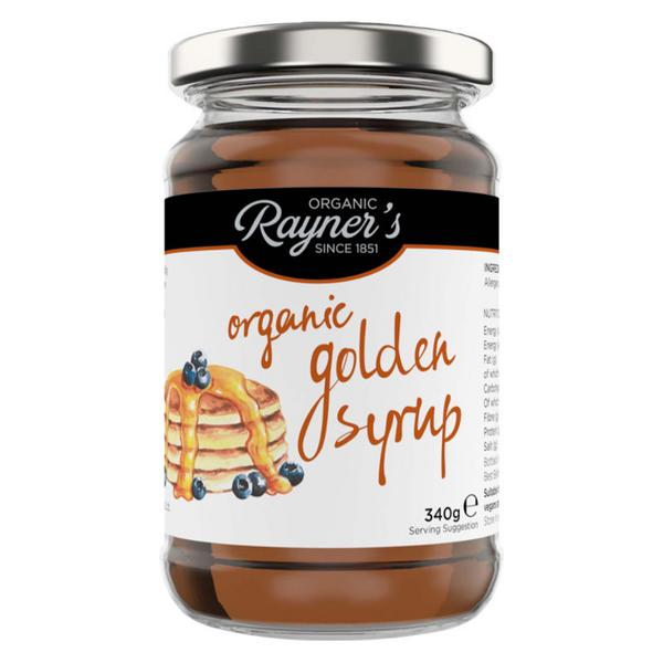 Golden Syrup No Gluten Containing Ingredients, FairTrade, ORGANIC