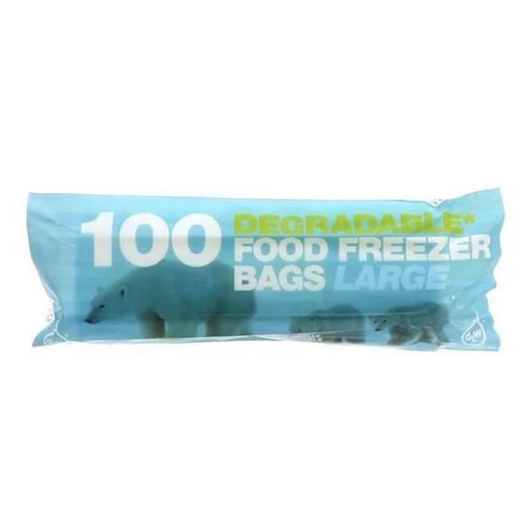 Large Freezer Bag Food
