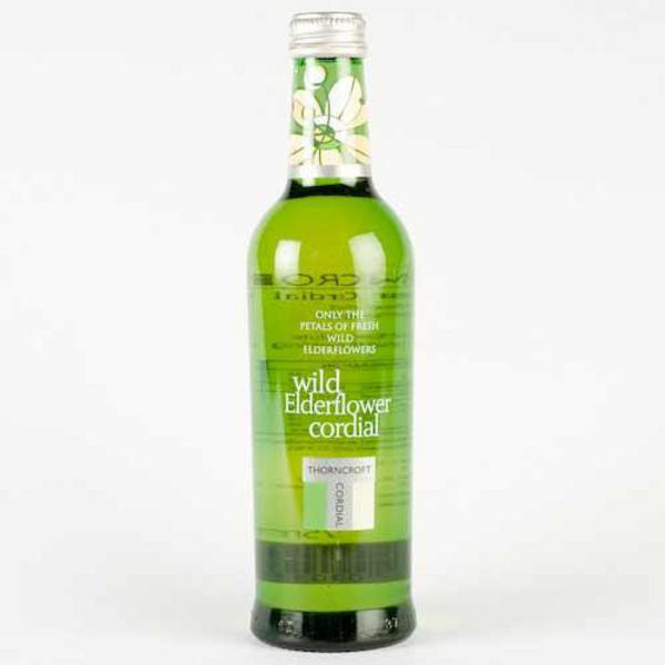 Elderflower Cordial in 33cl from Thorncroft