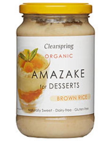 Sweet Brown Rice Amazake Dessert Gluten Free, Vegan, ORGANIC